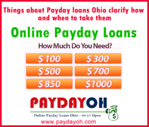 Payday Loans Ohio Online No Credit Check