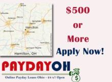Payday Loans Hamilton Ohio