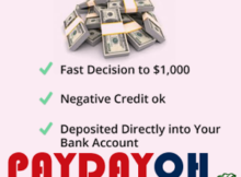 No Credit Check Payday Loans Ohio Online No Faxing