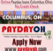 Online Payday loans Columbus Ohio No Credit Check