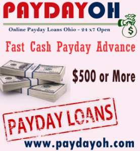 Online Payday loans are available very easily in Ohio Instant Approval