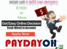 Payday loans Dayton Ohio are helpful in getting instant cash to fulfill your emergency