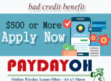 Payday loans Toledo Ohio online with bad credit benefit