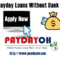 payday loans in Ohio without bank account