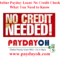 Online Payday Loans No Credit Check – What You Need to Know