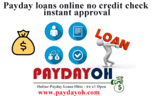 payday loans online credit check instant approval