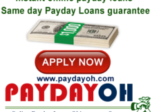 Instant online payday loans Same day