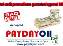 Bad credit personal loans guaranteed approval 5000
