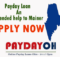 Online Payday Loans Maine
