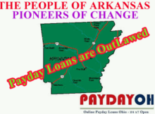 payday loans ARKANSAS are outlawed