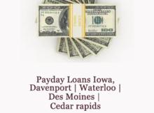 payday loans iowa