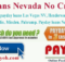 payday loans nevada no credit check