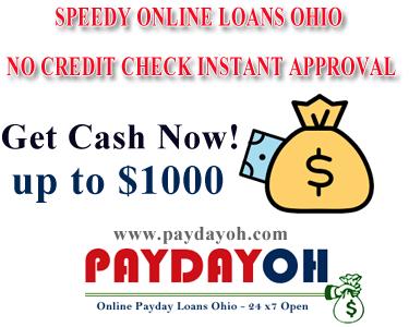 speedy online loans ohio