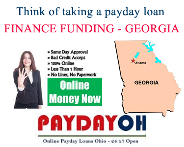 FINANCE FUNDING PAYDAY LOANS - GEORGIA