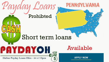 payday loans in pennsylvania pa
