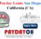 payday loans san diego ca online