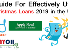 DIY Guide For Effectively Utilizing Christmas Loans 2019 in the USA