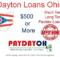 Dayton Loans Online Ohio
