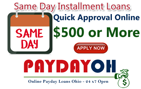 Same Day Installment Loans Online