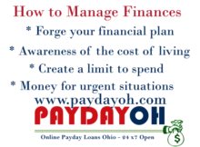 finance - How to manage money