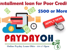 installment loans for poor credit
