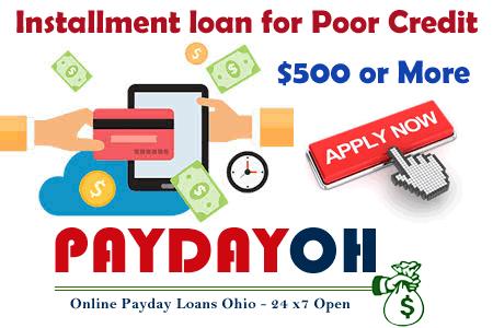 installment loans for poor credit