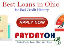Best Online Loans Ohio For Bad Credit