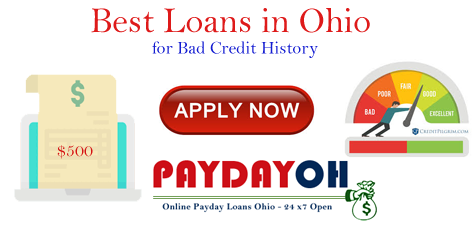 Best Online Loans Ohio For Bad Credit