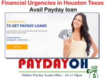 Financial Urgencies in Houston Texas