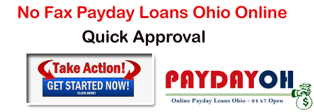 No Fax Payday Loans Ohio