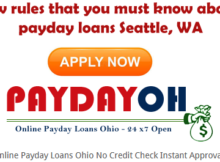 payday loans Seattle WA